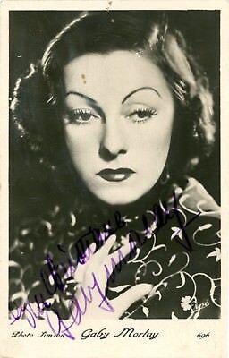 Usado, Gaby MORLAY Autographe Autograph Autogramm DEDICACE PHOTO SIGNEE Foto signiert segunda mano  Embacar hacia Mexico