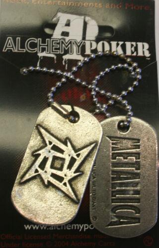 Poker Rox Metallica Pendant RARE!!  DT42