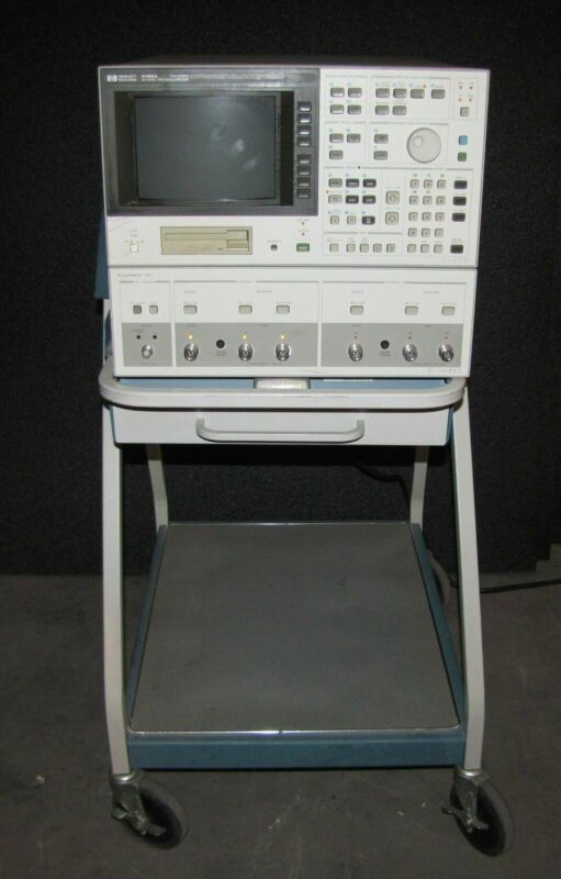 HP HEWLETT PACKARD 4195A Network/Spectrum Analyzer, 10 Hz - 500 MHz   (#2907)