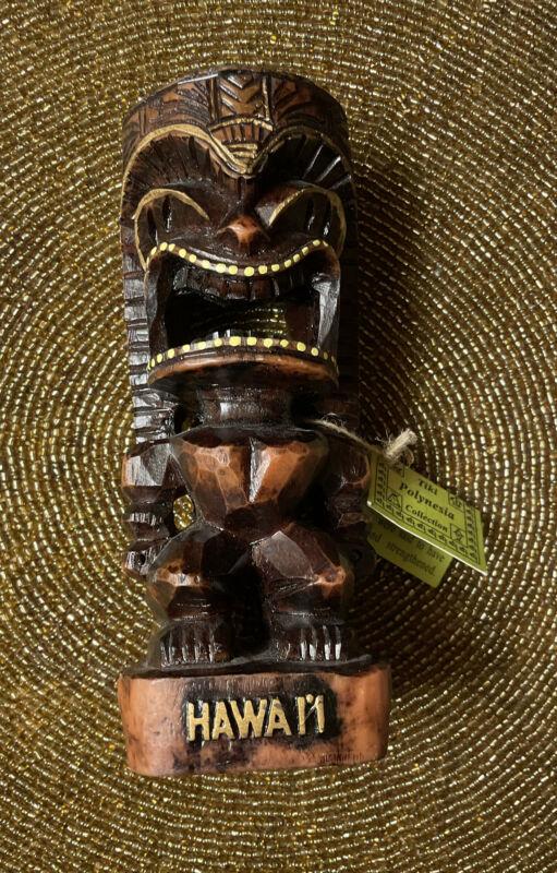 Chiefly Co small  Hawaii Love Tiki Polynesian Collection Tiki NWT