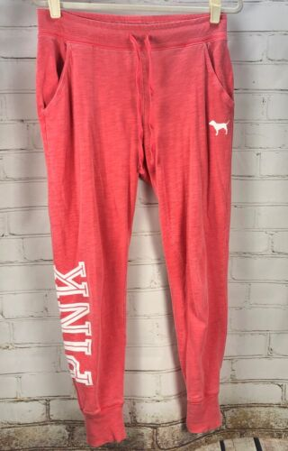 Victoria's Secret PINK Slouchy Jogger Boyfriend Sweatpants Size M Cotton