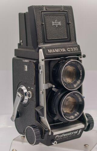 Mamiya C330 Professional F 120 Film TLR Camera & Sekor 80mm F2.8 Lens *Read*