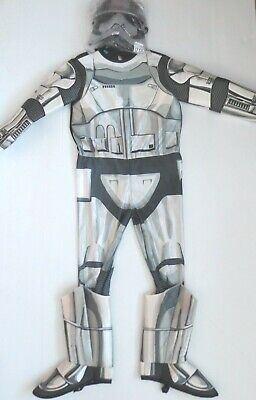 Star Wars Storm Trooper Kids Costume With Mask - Size L - NWT](Kids Starwars Costumes)