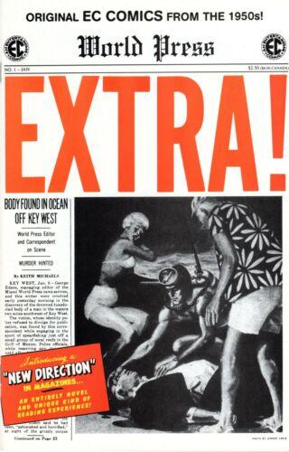 Original EC Comics from the 1950s - Extra!, #1, 2 & 5, 2000 - NM Condition!