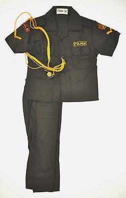 Polizeiuniform Kinderkostüm INDONESIEN POLIZEI KINDER UNIFORM (KOSTÜM) Gr. - Kinder Polizei Uniform