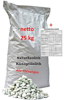 25 kg Zeolith Zeolithpulver Phosphatbinder Zeolite Zeoliet Filtermaterial online kaufen
