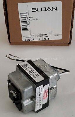 New Sloan El-451 120 Vac6 Vac 5060 Hz 6 Volt 25 Va Box Mount Transformer