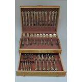 114 Pieces - ELOQUENCE by LUNT STERLING SILVER FLATWARE - 18 Serving Pieces