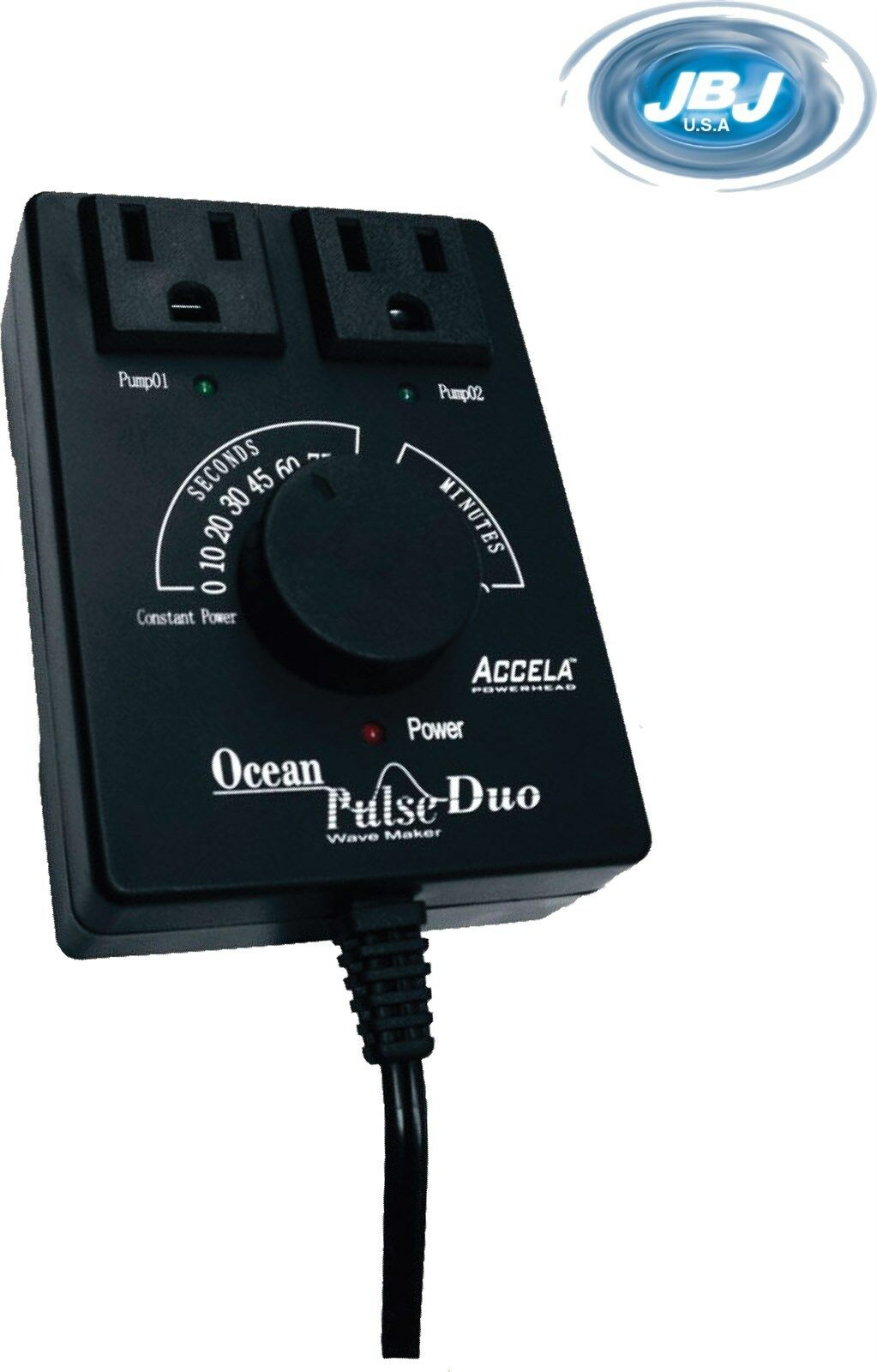 JBJ Ocean Pulse Duo 2 Pump Controller Wave Maker Wm-01 Fo...