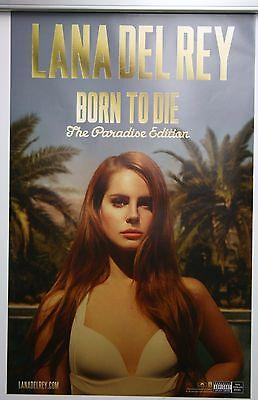 LANA DEL REY 2012 POSTER ALBUM BORN TO DIE PARADISE EDITION