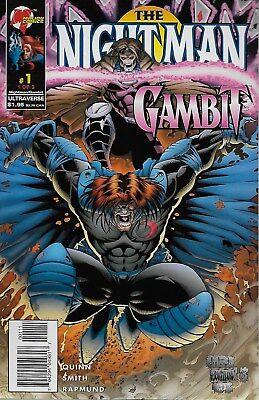 The Night Man / Gambit No.1-3 / 1996 David Quinn & Dietrich Smith