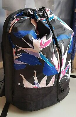 Adidas Originals Seasack Back Pack/Rucksack Black/Multi coloured NEW WITH TAGS!