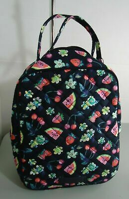 NWT Vera Bradley Lunch Bunch Bag Fruit Grove Strawberry Watermelons MSRP: $35
