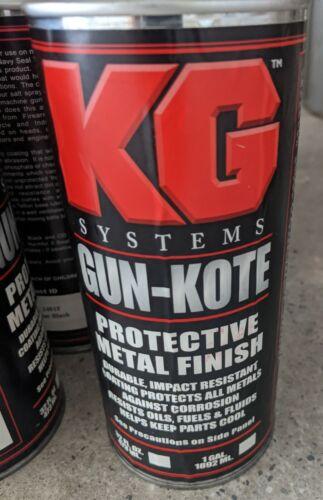 KG Industries - Gun Kote - 2401F Flat Black - 32oz