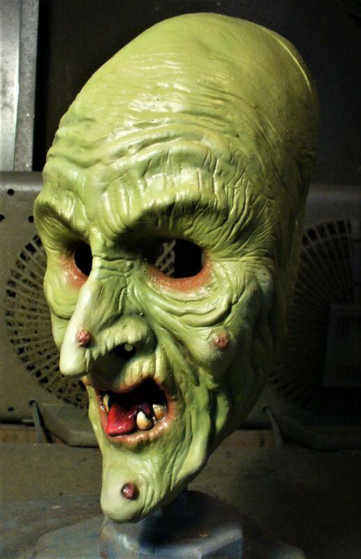 Don Post Studios Hagatha Witch Halloween Mask ~ Tharp