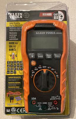 Klein Tools Mm400 600v Digital Multimeter
