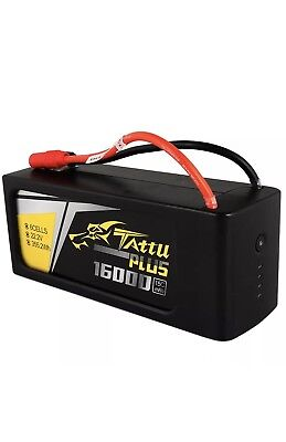 Tattu Lipo Plus 16000mAh 15C 6S1P Battery AS150 and XT150 DJI S900 S1000 drone