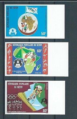 Benin, 1978, Olympic, Cycling, imperf, compl, MNH, Sc, Mi-not listed