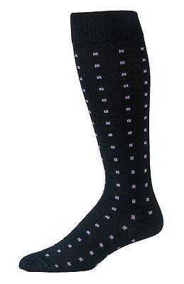 Mens Merino Wool Dress Socks Knee High Over Knee Over Calf Pattern Winter Socks