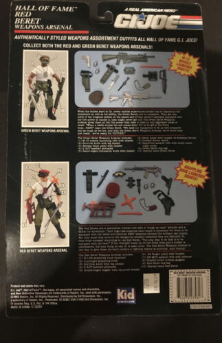 1993 GI JOE Hall Of Fame - RED BERET Weapons Arsenal - NEW - $20.00