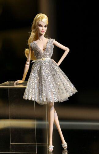 Silver Dress For Fashion Royalty Poppy Parker Vanessa Perrin