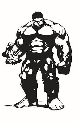 Decal Vinyl Truck Car Sticker - Marvel Avengers Hulk - Hulk Decal