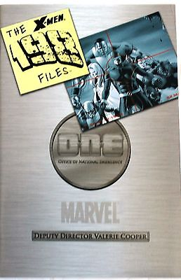 X Men The 198 Files First Printing   2006 Marvel Comics