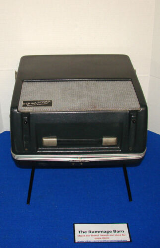 PERMA POWER Roving Rostrum PORTABLE PA Device LOUD SPEAKER ----- Model S122