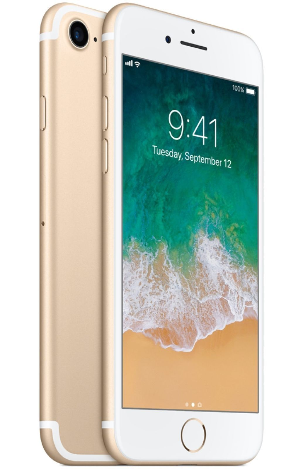 Apple iPhone 7 - 32GB 128GB (Factory Unlocked / AT&T T-Mobile) 4G Smartphone