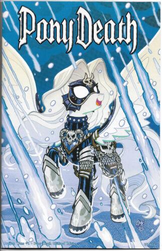 Lady Death Dragon Wars 1 Pony Death Blizzard Edition 26/125 Coffin Comics
