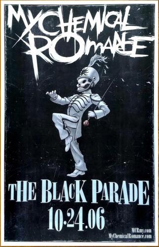MY CHEMICAL ROMANCE The Black Parade Ltd Ed Discontinued NEW RARE Poster! MCR