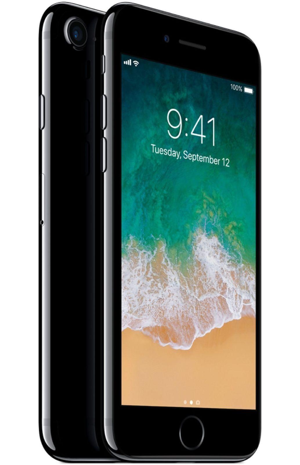 Apple iPhone 7 - 128GB - Jet Black (GSM Unlocked AT&T / T-Mobile) Smartphone