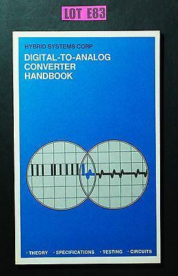 - Digital - To - Analog Converter Handbook 1970 Hybrid Systems  VINTAGE DATA E83