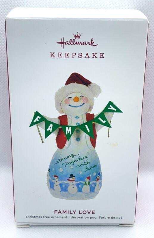 Hallmark Keepsake Snowtop Lodge Family Love Ornament 2019