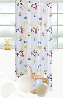 Rovitex Disney Minions Kinder Schlaufenschal Gardine Vorhang 145 x 245 cm