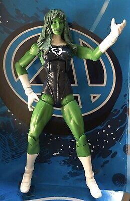 Marvel Legends Custom SHE HULK - Fantastic Four Invisible Girl Woman