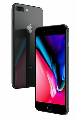 Apple iPhone 8 Plus 64GB Space Gray - Verizon AT&T T-Mobile Unlocked Smartphone