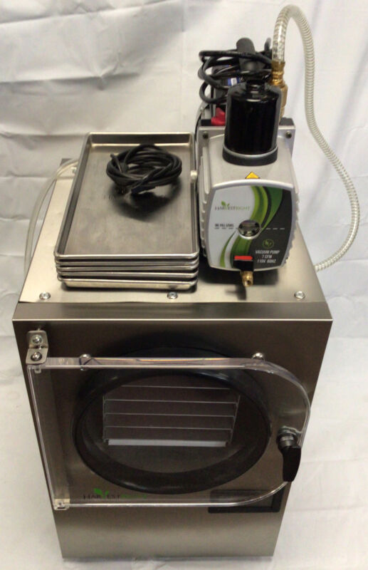 Harvest Right Benchtop Freeze Dryer w/ 2-Stage Vacuum Pump & 5 Steel Trays