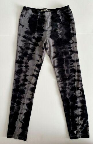 Guess Girls Leggings Gray Black Size S /7/8/