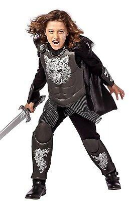 Nwt Knight Wolf Kids Costume Sz M 8-10 Warrior HAlloween