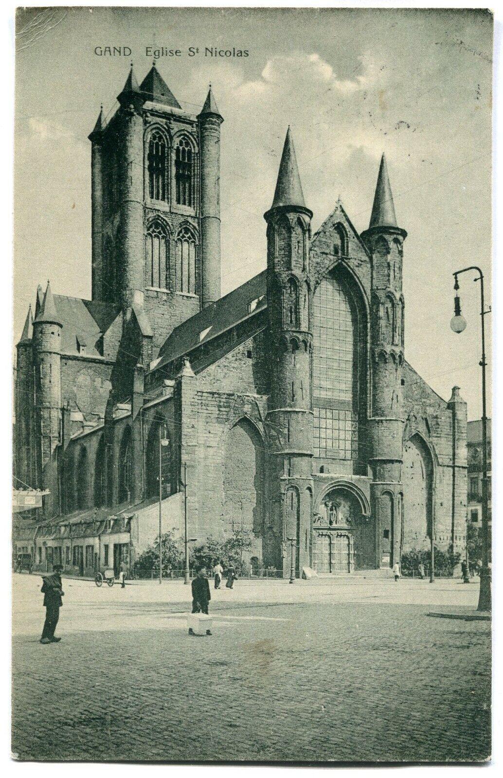 CPA - Carte Postale - Belgique - Gand - Eglise Saint Nicolas ( M7354)