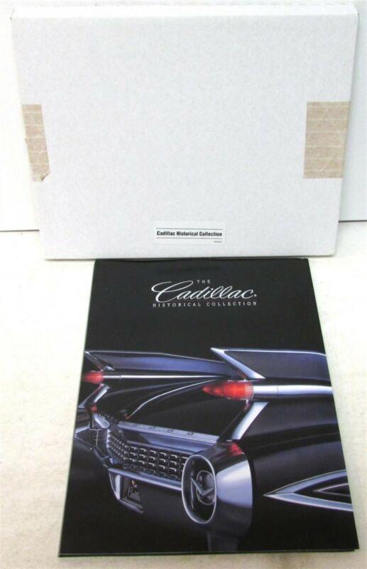1998 Cadillac Historical Collection Press Kit 1903 1931 V16 1959 Eldorado 98 STS