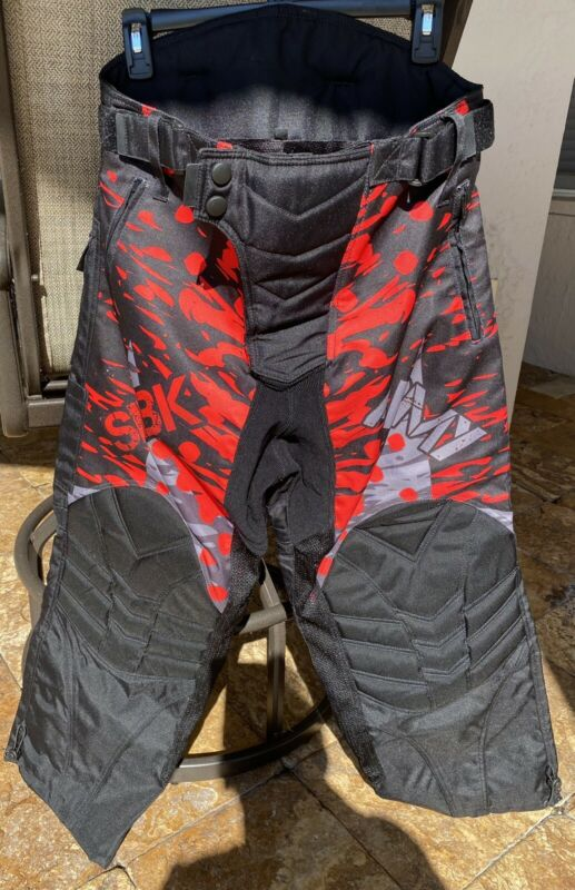 Paintball Padded Pants Mesh Lined Adult Small NWOT