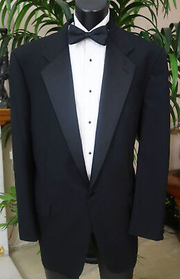 NORDSTROM TUXEDO + STUDS, CUFF LINKS, TIE & MORE 42R MADE IN USA