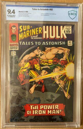 Tales to Astonish 82 Marvel Comics 1966 Sub-mariner vs Iron Man CBCS 9.4