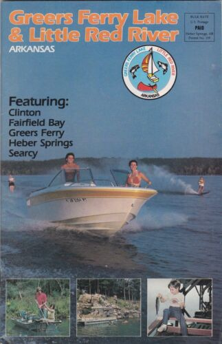 c1980 Greers Ferry Lake & Little Red River Promotional Booklet