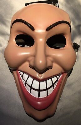 The Purge Mask Grin Halloween Film Movie Horror Female Scary](Scary Female Mask)