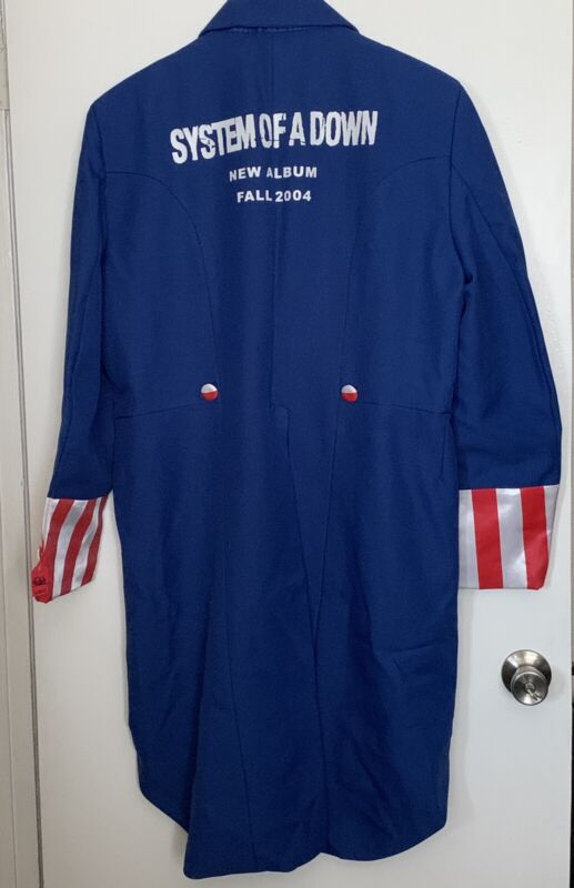 SYSTEM OF A DOWN Collectible 2004 CDRelease Party Uncle Sam Costume high quality