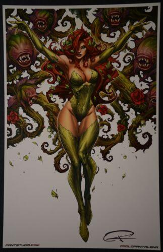 Poison Ivy Paolo Pantalena Print