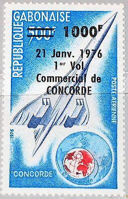 GABON GABUN 1976 577 C173 1st flight Concorde Paris - Rio Flugzeug Airplane MNH gebraucht kaufen  Hemau